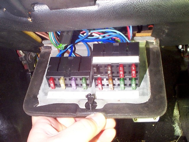 Fuse Box Replacement electrical circuit digram