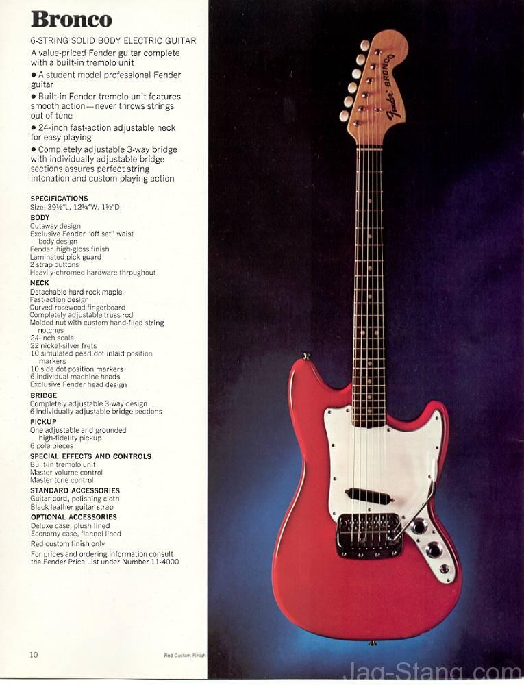 Fender Jaguar FAQ Jag-Stang