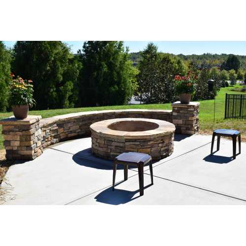Medium Crop Of Stone Fire Pit