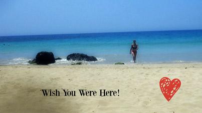 Wish You Were Here In Hawaii