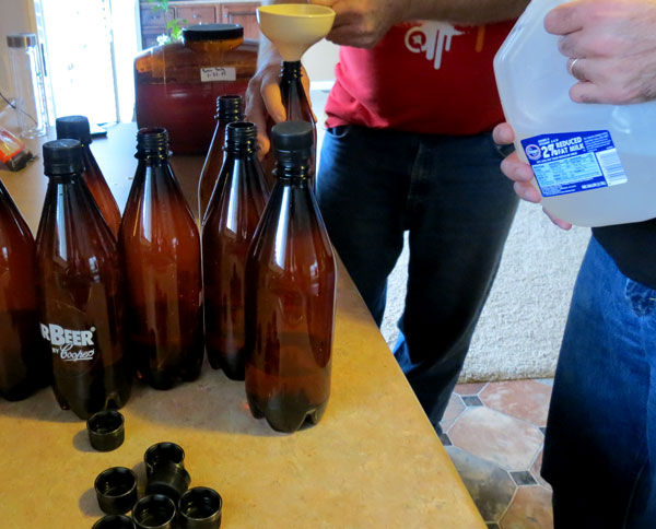 how to clean beer bottles for brewing