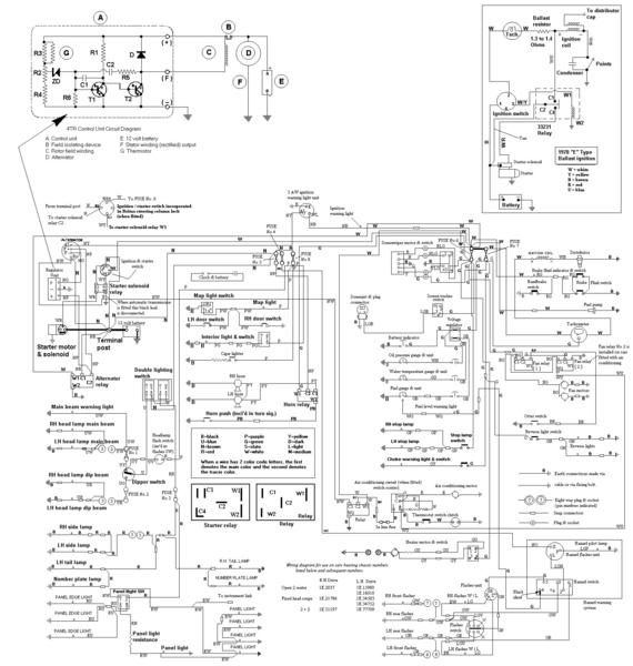 how to read wiring diagram for cars
