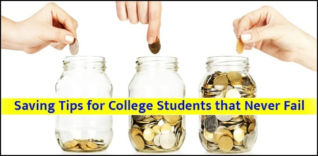 Money saving tips for college students that never fail College