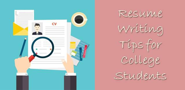 Basic Resume Writing Rules for College Students College