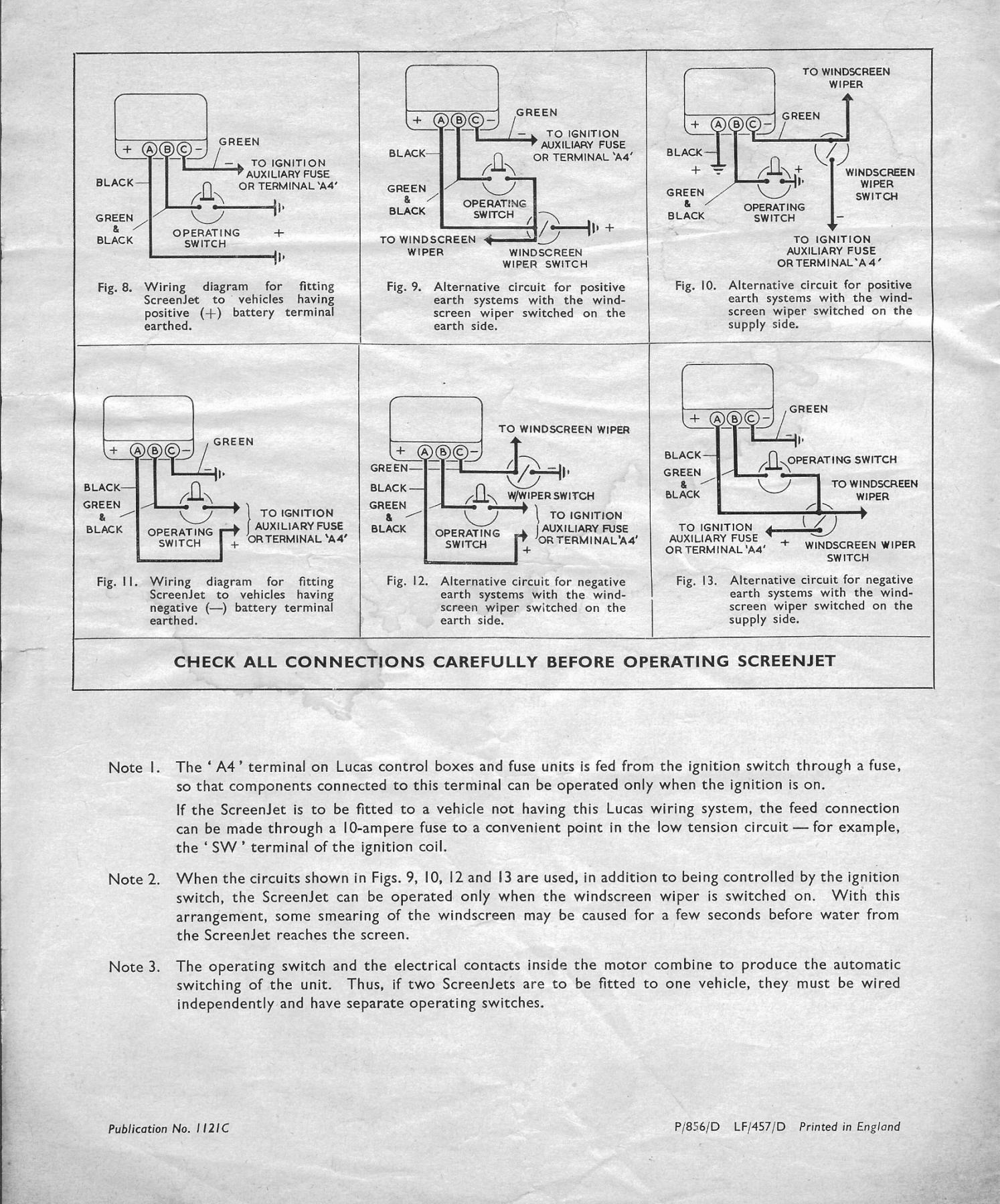jaguar 340 wiring diagram