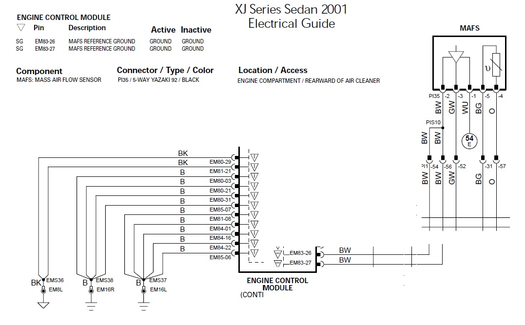 jaguar xjr wiring diagram