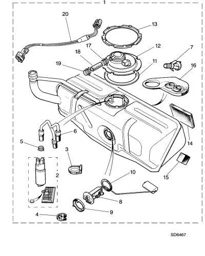acura fuel pressure diagram