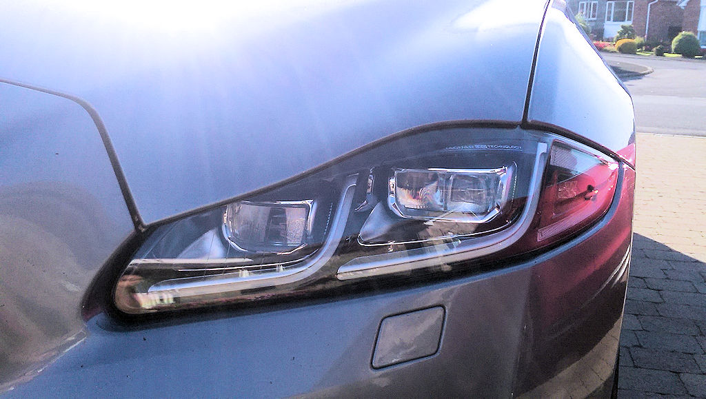 2016 LED headlamp retrofit to earlier cars (with full functionality