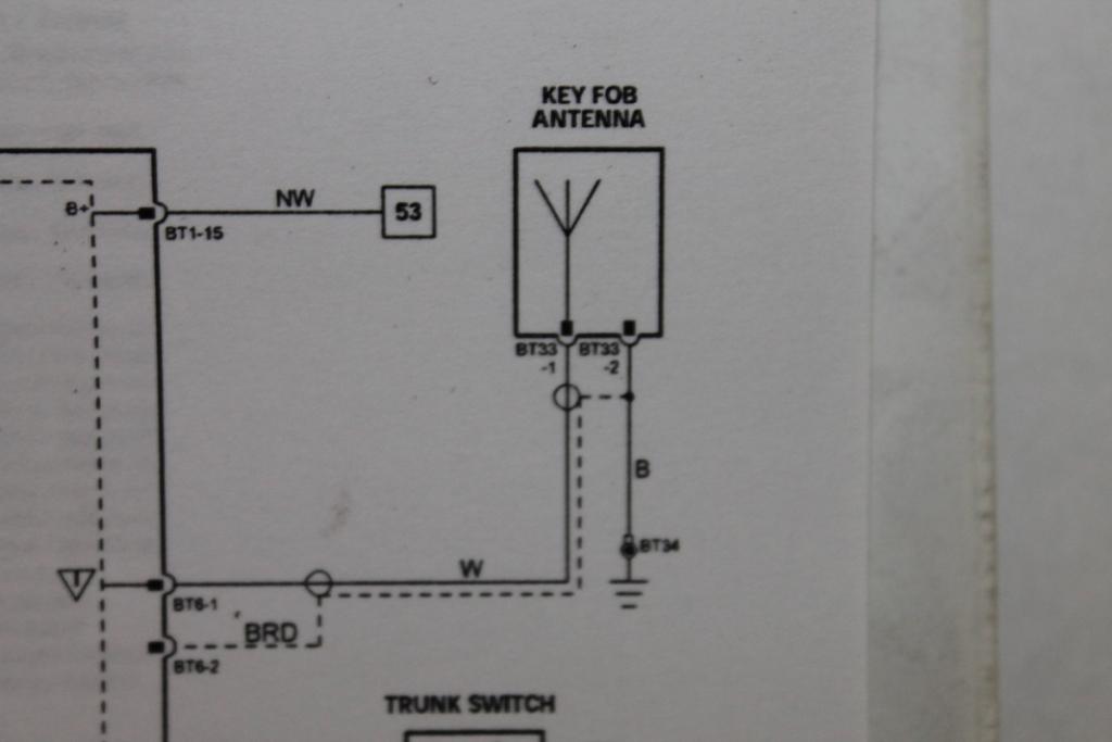 Key Fob Schematic Wiring Diagram