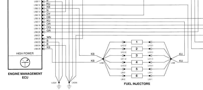 Xj6 3 2 Injector Wiring Diagram Wiring Diagram