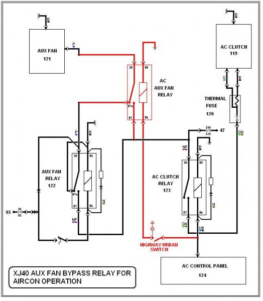 thermo fan switch wiring diagram