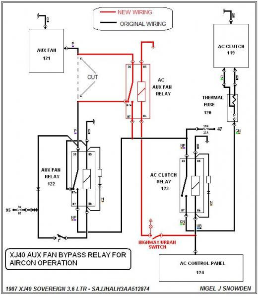 Auxiliary Cooling Fan/Thermo Switch - Jaguar Forums - Jaguar