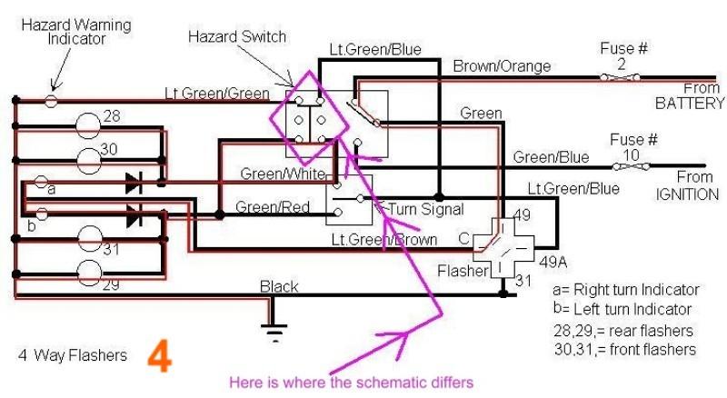 Understanding the Turn signal wiring diagram - Jaguar Forums