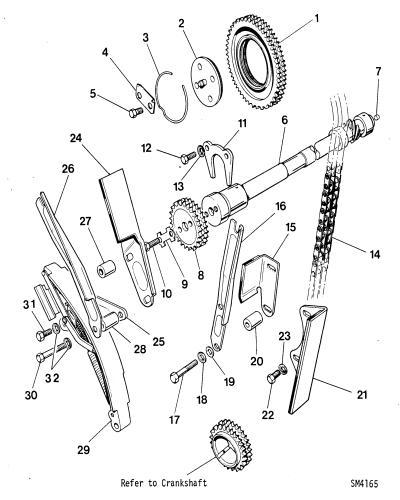 jaguar xj8 timing chain diagram
