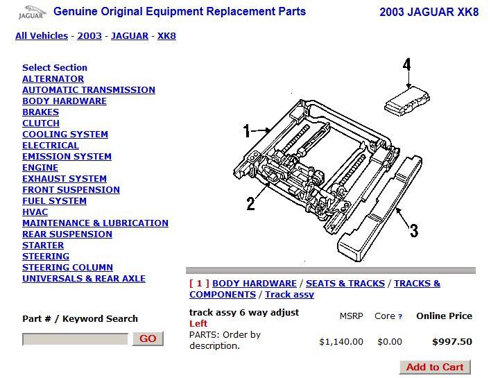 Airbag Code 49 - seat position tracking sensor - Jaguar Forums