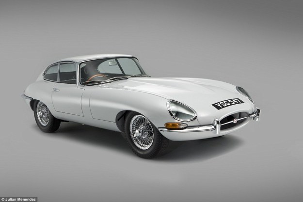 e type jaguar restoration