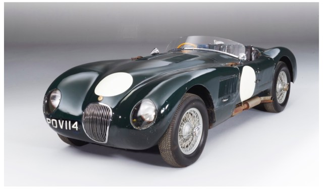 jaguar 1952 C type
