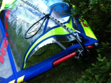 BOXER AVANT - voile de windsurf planche a voile réparation brest