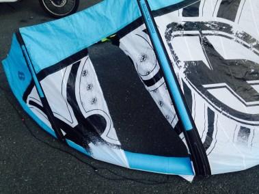 F.one cassé - j'ai cassé ma voile - voilerie kitesurf Brest