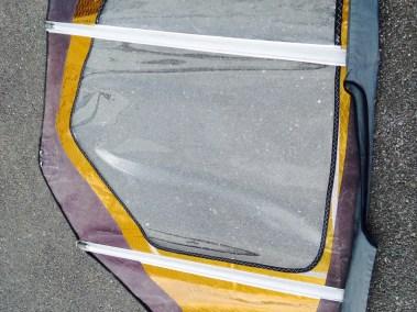Panneau réparé neilpryde zone j'ai cassé ma voile .com voilerie windsurf brest