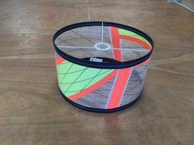 abat jour voile de windsurf gaastra manic 2 recyclée voilerie j ai cassé ma voile