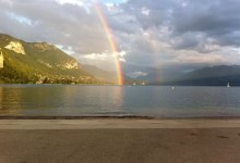 Le lac en Juillet