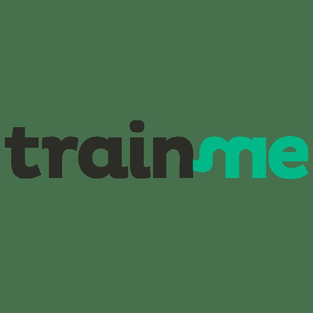logo TrainMe, la nouvelle plateforme pour trouver un coach sportif près de chez soi…et en quelques clics