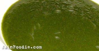 Jain Coriander Green Chutney