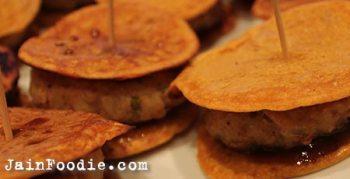 Jain Pudla Pattice Sandwich