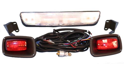 ezgo golf cart light wiring diagram golf cart lights wiring diagram