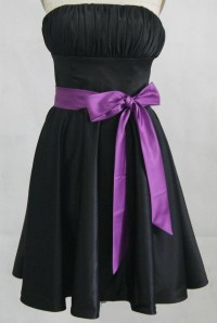 The gallery for --> Black And Purple Bridesmaid Dresses
