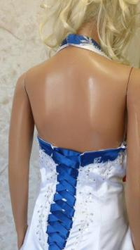 Wedding Dresses With Royal Blue Trim - Wedding Dresses In ...