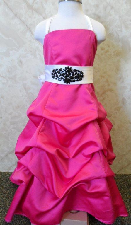 Long Pink Dresses for weddings, pageants or prom