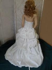 Bridal dresses for children.