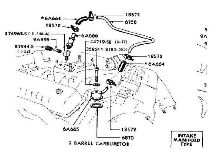 ford pcv valve diagram