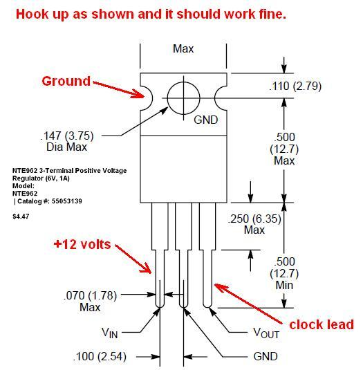 bwd voltage regulator wiring diagram