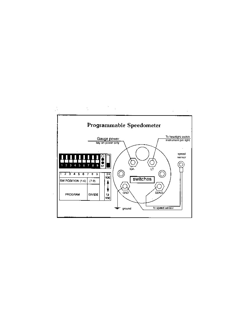 Dolphin Gauges Wiring Diagram For Electronic Auto Electrical