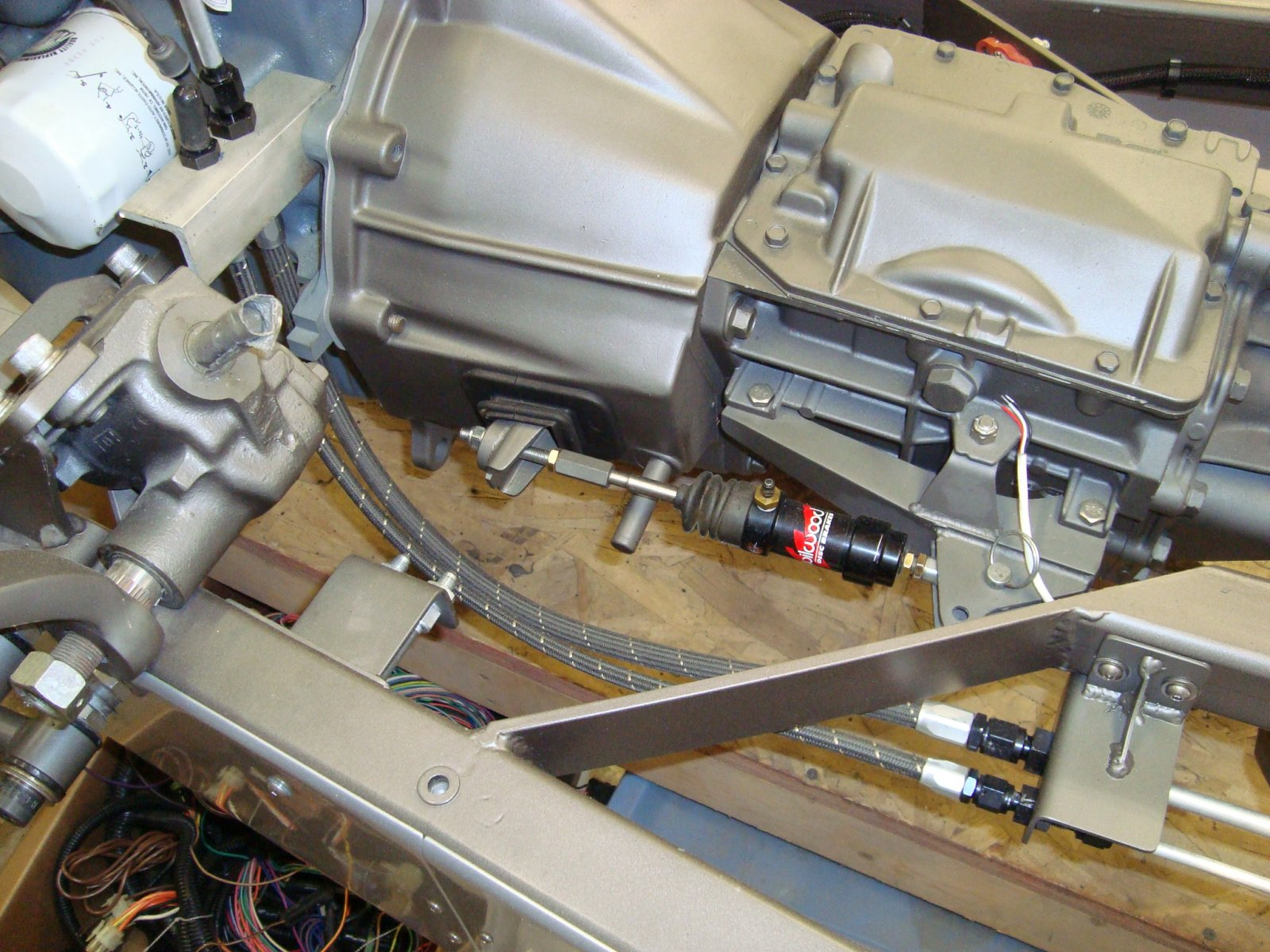 Clutch Slave Cylinder Mounting The Hamb