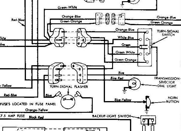 1956 ford fairlane wiring diagram