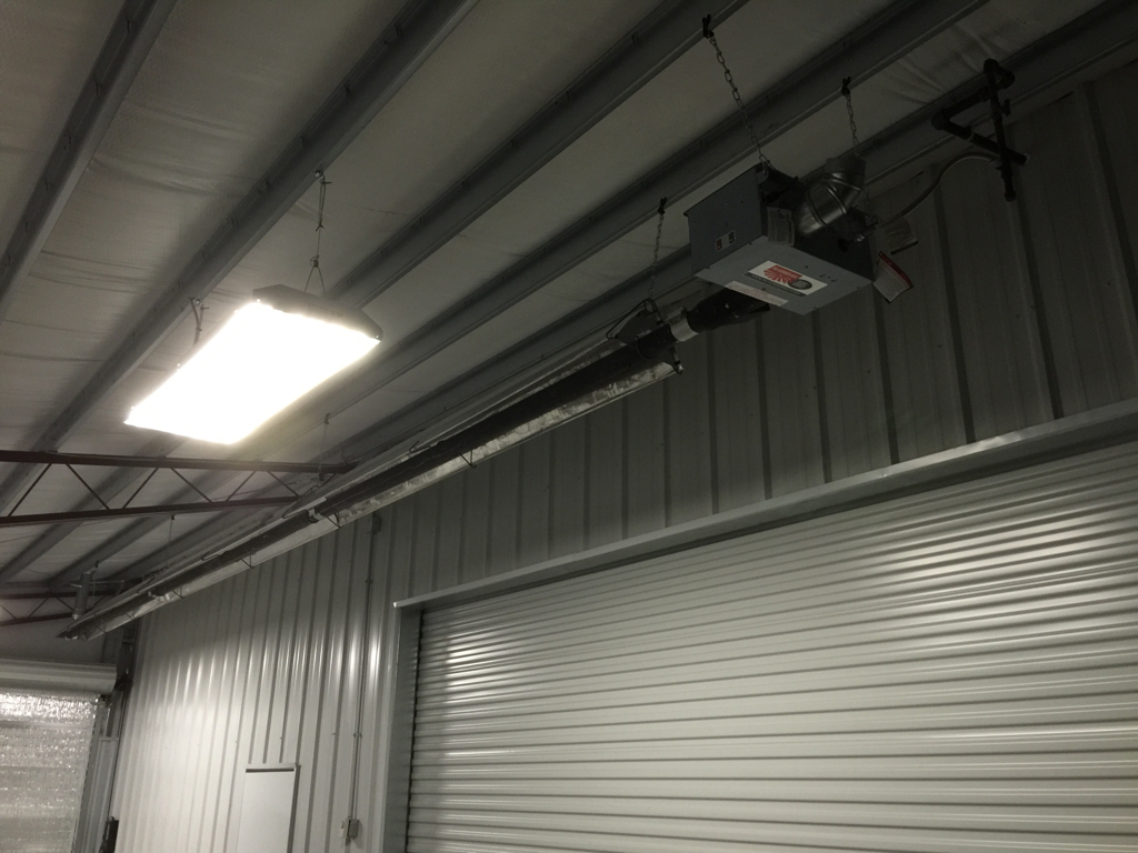 Re Verber Ray Radiant Tube Heater For Shop Garage New