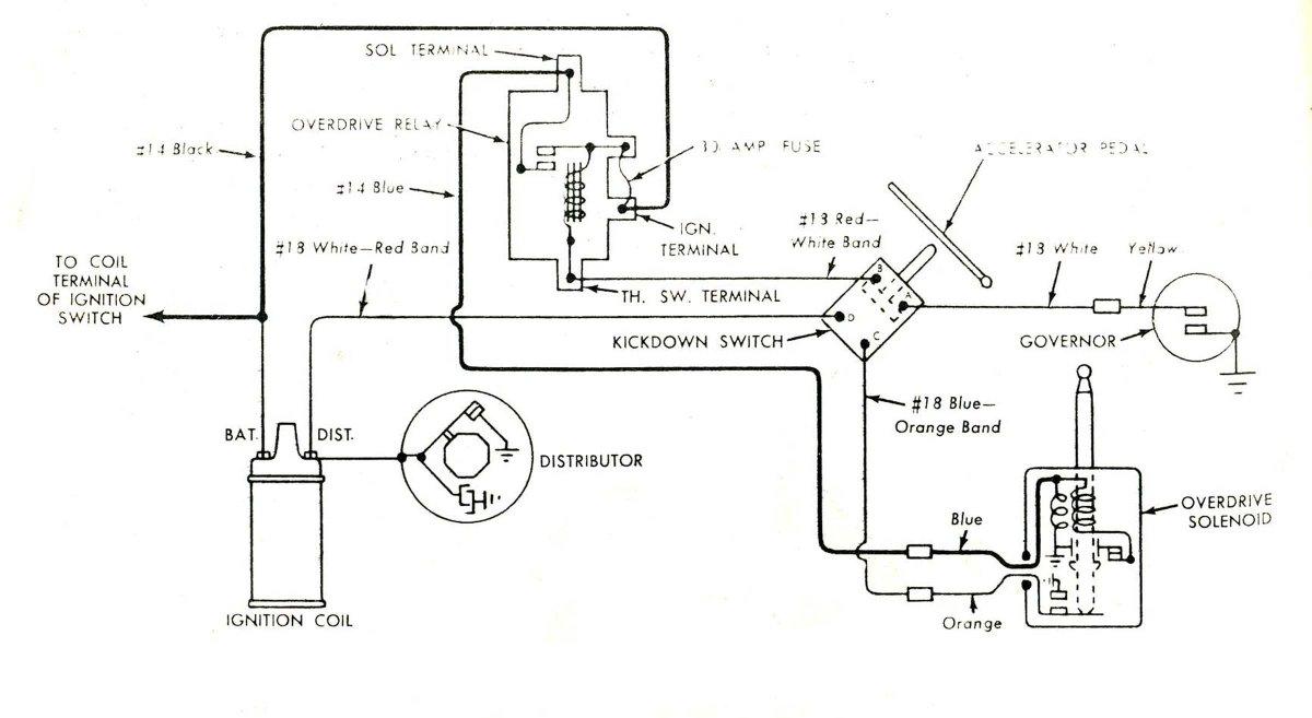 wiring diagram 51 mercury overdrive