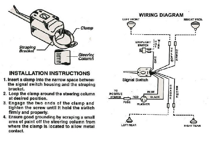 everlasting turn signal switch wiring diagram