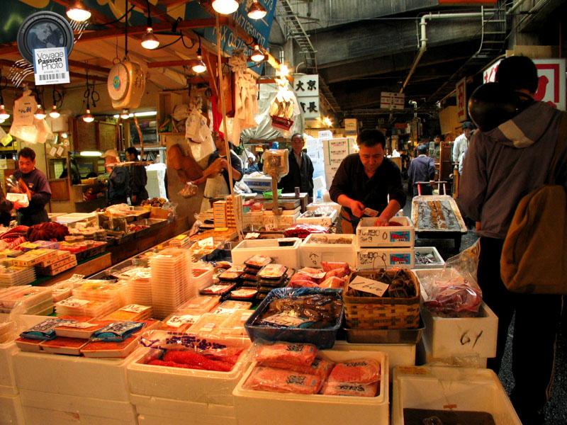 Marché aux poisson Tsukiji