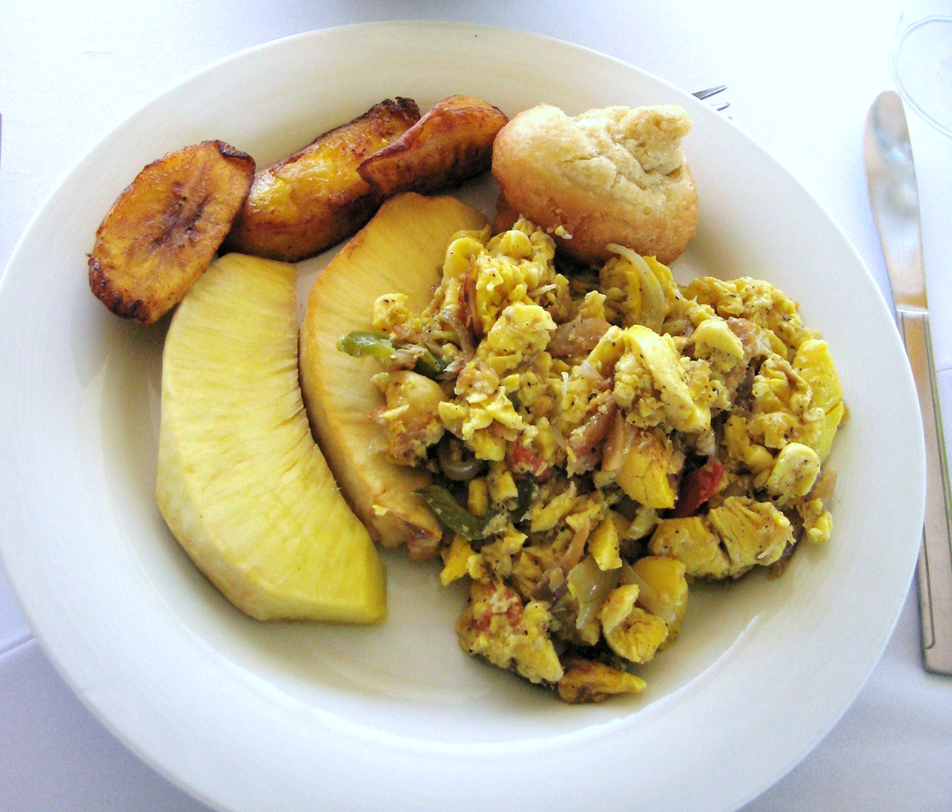 National dish jamaica foundation of houston for Salt fish ackee