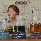Evy Chen, owner of the Tea Bar at EvyTea on Amory Street
