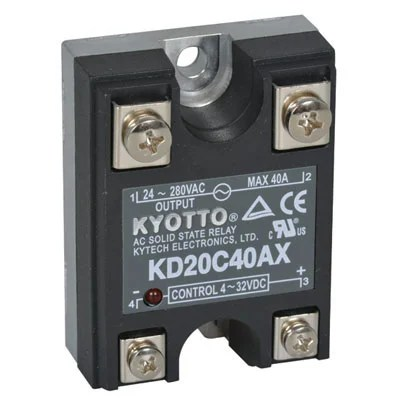 KD20C40AX Kyotto  Relay Solid State 32 Volt DC Input 40 Amp 280