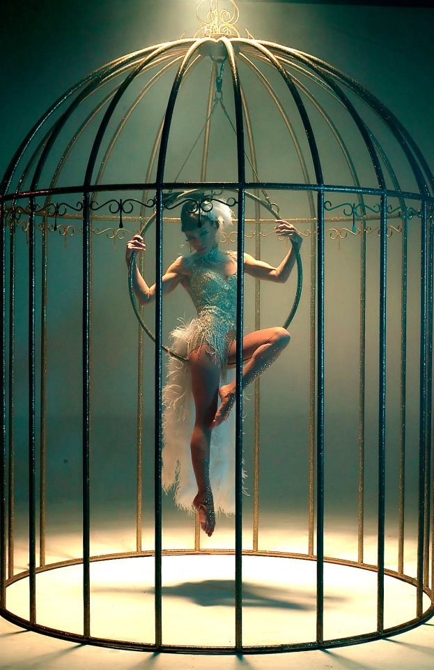 Arabic Girl Wallpaper Bird In Cage