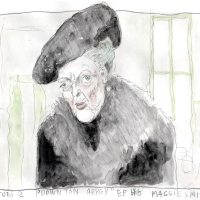 TV Sketching: The Dowager Countess