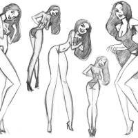 Girlie Sketches: Part 3