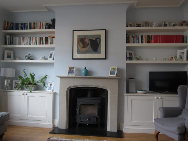 Victorian Fireplace Alcove Shelving Small House Interior